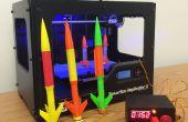 Arduino modèle Rocket Launcher pour 3D imprimés fusées