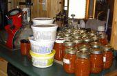 Comment conserver un boisseau de tomates par jour