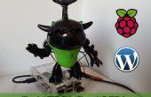 Alerte d'Animatronics WordPress avec framboise Pi