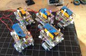 BristleSwarm : Explorations en robotique de l'essaim