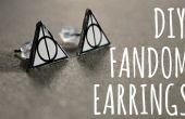 Boucles d'oreilles FANDOM bricolage