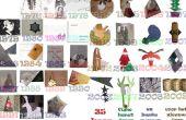10 cartes de Noël 3D original