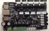 Installation pilote externe Smoothieware socle 1.2 contrôleur à l'aide de goupilles E1 !