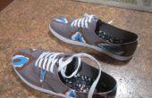 Ikat-Print chaussures
