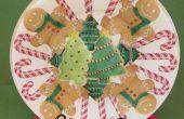 PLAQUE de biscuits de Noël