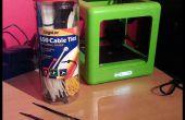 Gérer les bobines de Filament d'imprimante 3D avec attaches