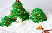 Forêt de biscuits de Noël