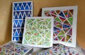 Sticker chromatique-géométrique