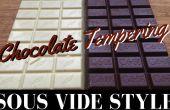 Tempérage chocolat : Sous Vide Style