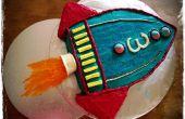 Gâteau de fusée (pour Toy Story parti)