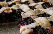 BlackBerry Bramble tarte recette pour les végétaliens