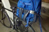 Ceinture boucle pneu panier de vélo