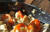 Comment faire des œufs brouillés Vegan Tofu | Petit déjeuner facile recette