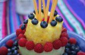 Faire un gâteau entier de fruits : Berry gâteau fruité
