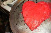 Gâteau coeur Valentine