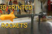 Faire votre propre Canon Rocket - Shoot 3D roquettes imprimé plus de 100 pieds !