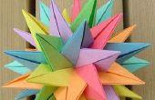 Comment faire des boules de fleurs de papier