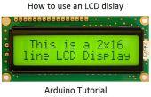 Comment utiliser un écran LCD - Arduino Tutorial