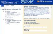 Installez Visual Studio .NET 2002 en 64-bit Windows