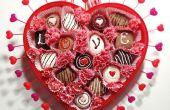 Boîte de chocolats guirlande