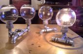 Steampunk - lampes tube, industriel