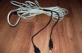 Prolonger le câble de Jack téléphone à l'aide de câbles USB