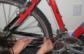 Enlever la rouille d'un vélo avec le jus de Lime