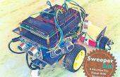 Robot de nettoyage maison avec Bluetooth