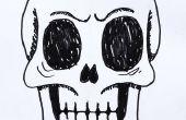 Comment dessiner un crâne humain