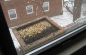 Comment faire un rebord de fenêtre ouverte plateau mangeoire
