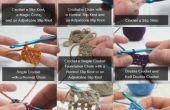 Crochet-Généralités - comment crocheter les points communs et les Techniques