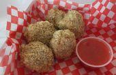 Cookies de Nugget de poulet poivre & noyer