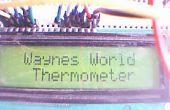 Arduino LCD thermomètre avec sonde de température LM35