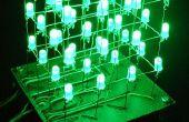 Le 4 x 4 x 4 cube de LED (Arduino)