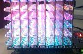 Utilisation 8 x 8 x 8 RGB LED Cube sur pcDuino