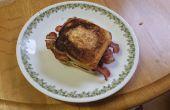 Sandwich-déjeuner nid de l'oiseau (nouvelle tournure sur un vieux favori)