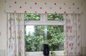 Comment faire des rideaux simple