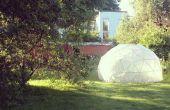 Serre - dôme géodésique
