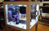3D printer enceinte de Upcycled meubles