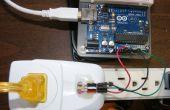 Simplifié de mesure de courant alternatif Arduino à l'aide de capteur à effet Hall ACS712
