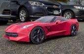 'Vette - Papercraft Sports Car