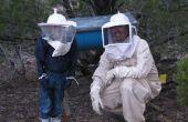 Tout-en-un enfant abeille veste & voile