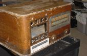 Boîtier de l'ordinateur de radio 1940