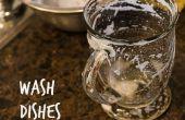Comment faire pour laver la vaisselle (avec très peu d'eau!)