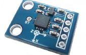 Interfaçage accéléromètre ADXL 335 avec une planche Mediatek LinkIt
