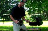 Backyard BBQ Utility Belt & boire casque de Duct Tape