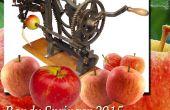 Éplucheur de pommes perceuse électrique !