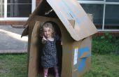 Gratuits pour enfants carton Box Playhouse (plat-compressible)
