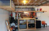 Banc de travail/rangement de garage