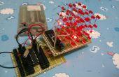Cube LED extensible 4 x 4 x 4 à l'aide de 8051 avec exemple de programme